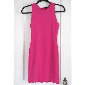For Love and Lemons Fuchsia mini dress Small